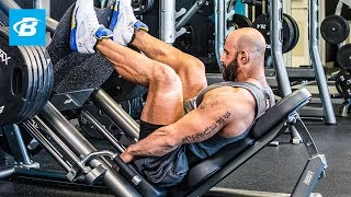 Ronnie Milo's MVP Leg Workout - Bodybuilding.com