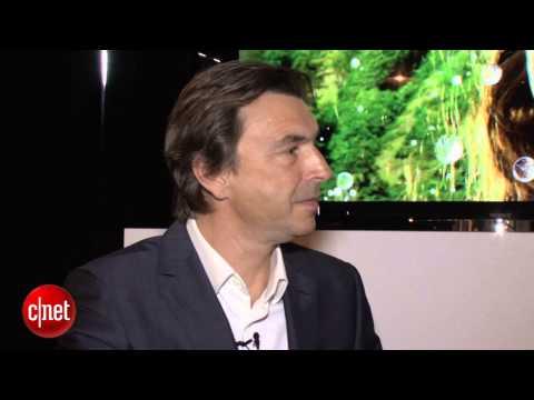 CNET News - Sony Electronics president talks 4K, PS4 with CNET