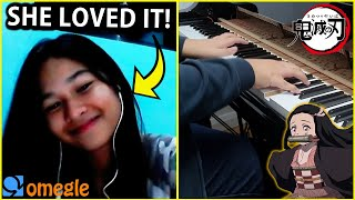 Download I played DEMON SLAYER OP and other anime openings on OMEGLE... (Anime Piano)
