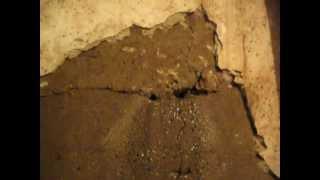 Бэжит вода по стене. Устранение на 5(, 2012-08-22T06:58:07.000Z)