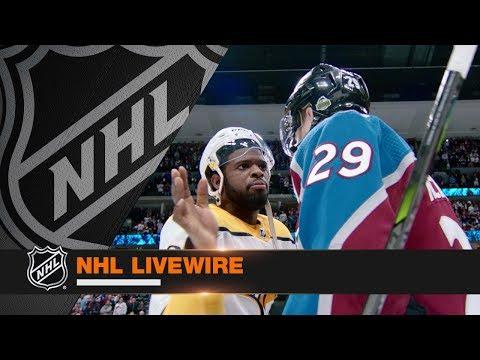 NHL LiveWire: Predators, Avalanche mic'd up for decisive Game 6 tilt