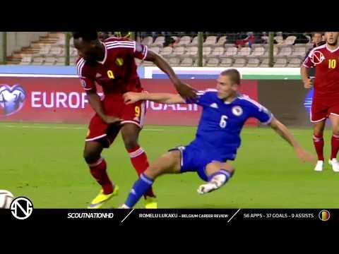 Romelu Lukaku - Belgium Performance : Gol, Assist, Skill