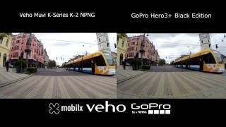 Veho Muvi K2 Vs GoPro Hero 3+ Black Edition