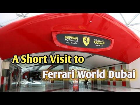 Ferrari world dubai  ||  Dubai ferrari world  || Ferrari world ||