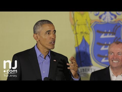 FULL SPEECH: Barack Obama speaks in Newark with Phil Murphy