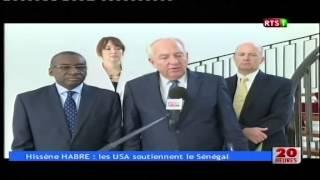 RTS1:Proces Hissene Habré, le président Macky Sall recoit l