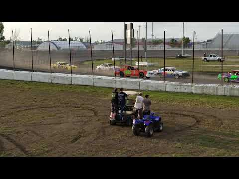 082418 RRVS Stock Car Heat from Pits