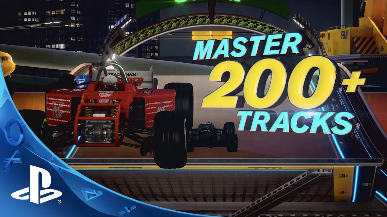 Trackmania Turbo - Launch Trailer | PS4