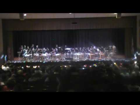 Scottsboro Junior High School Christmas Concert 12-16-16