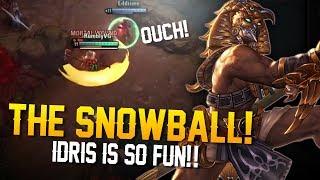 THE SNOWBALL! Vainglory 5v5 Gameplay - Idris |WP| Top lane Gameplay