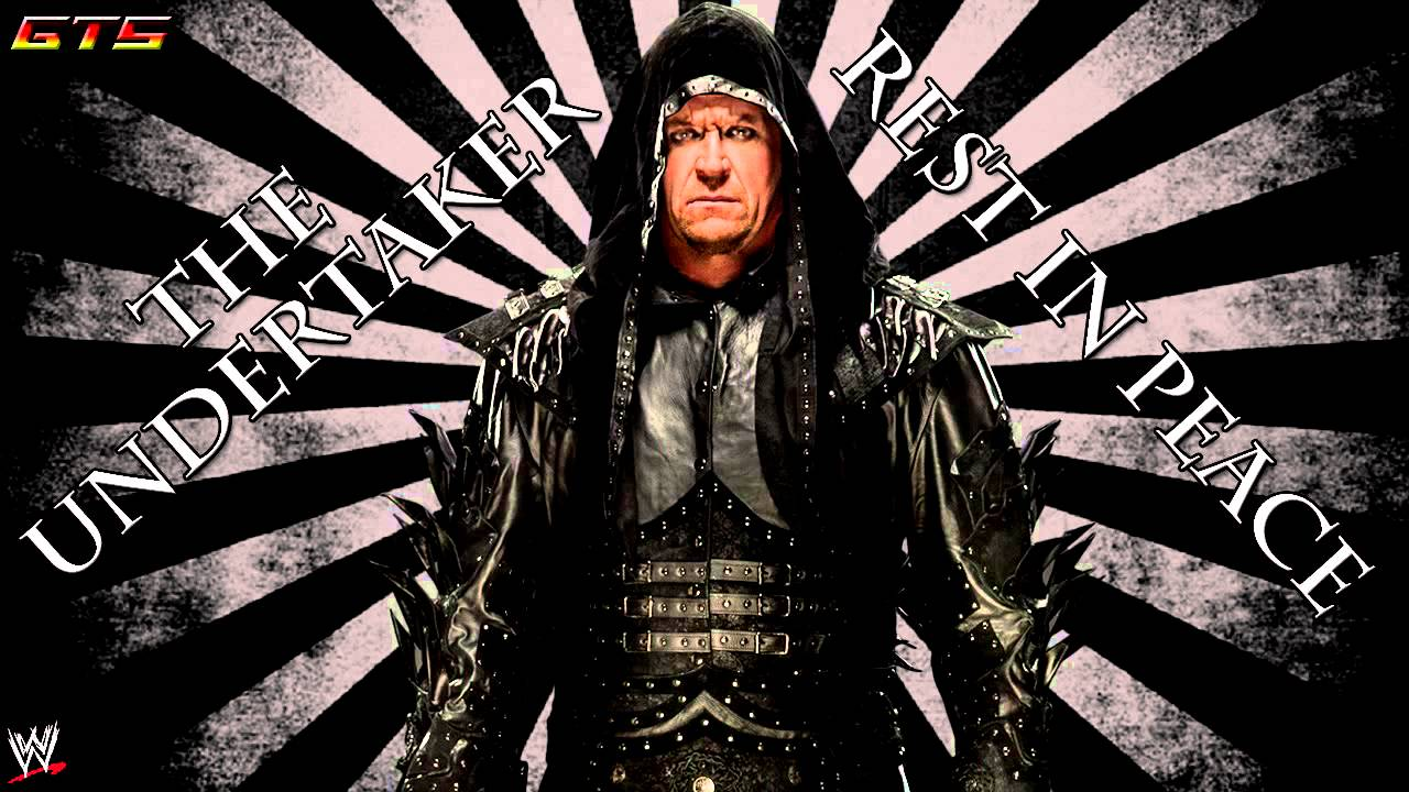 """2013: The Undertaker - WWE Theme Song - """"Rest In Peace"""