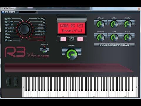 Korg R3 VST Demo-01