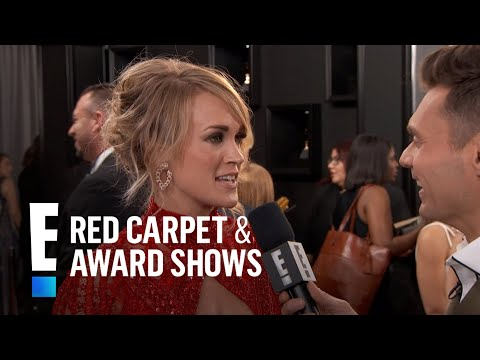 Carrie Underwood on Her Love for Country Music at 2017 Grammys | E! Live from the Red Carpet
