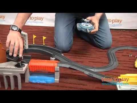 Cars 2 GeoTrax World Grand Prix RC From Fisher-Price
