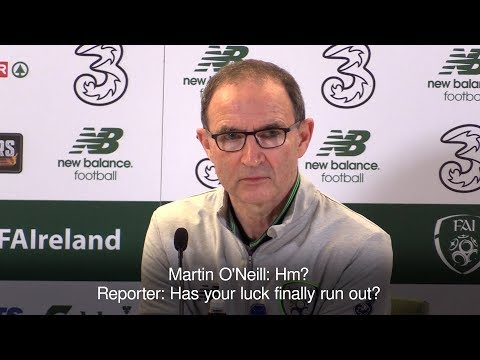 Journalist Asks Martin O'Neill After Heavy Defeat - 'Has Your Luck Run Out?'