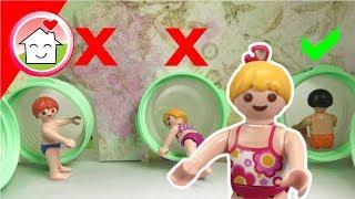 Playmobil Film Familie Hauser - Wähle nicht die falsche Rutsche! - Video für Kinder