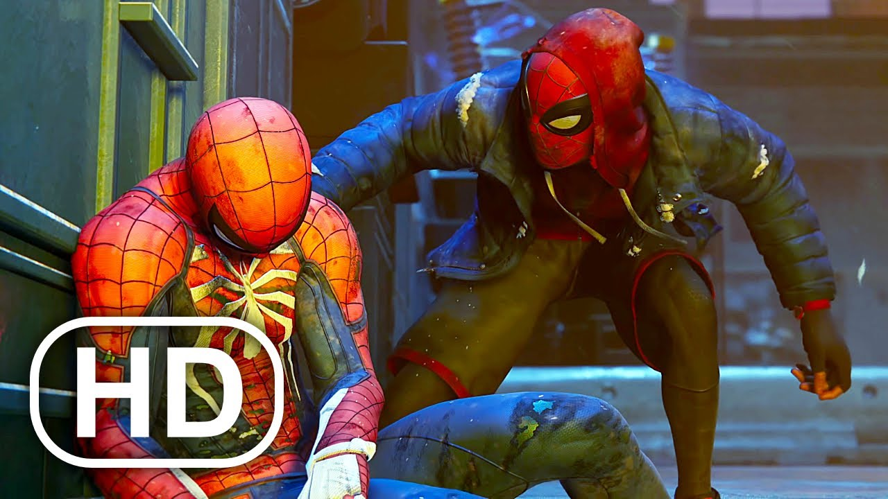 Miles Morales Becomes An Avenger Scene HD - Spider-Man Miles Morales