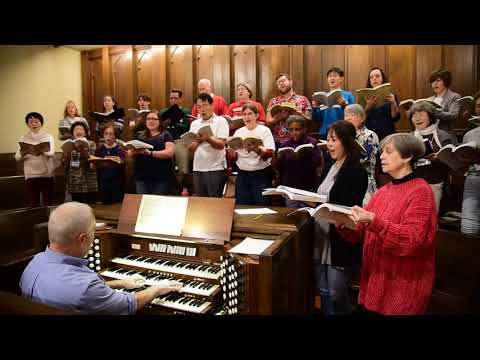 Messiah Rehearsal at Calvary Presbyterian Church South Pasadena