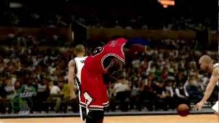 NBA 2K12 PC My Player - [Bulls 7th game] Between the Legs