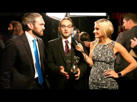 The Fine Brothers Backstage Interview - Streamy Awards 2014