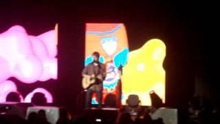 Ed Sheeran @ Lyon - Sing / Señorita (Justin Timberlake Cover)
