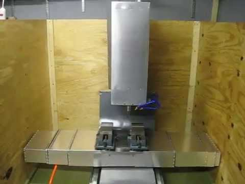 Test Of My Home Built Vertical Cnc Milling Machine Youtube