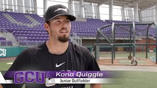Why GCU  |  Kona Quiggle  |  Baseball