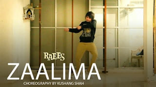 raees|zaalima|song free style dance by kushang shah|