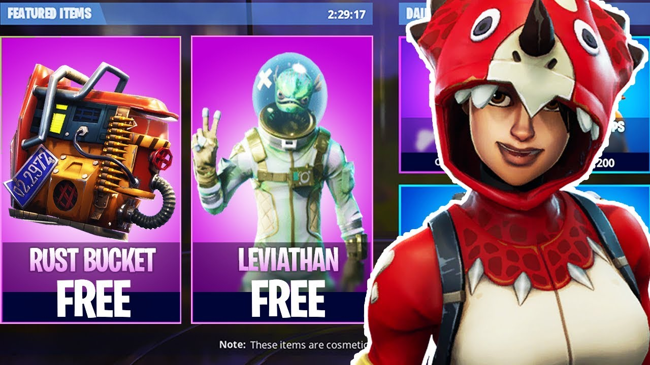 Epic Games Giving NEW FREE SKINS to EVERYONE! NEW Rust ...