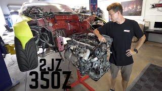 2JZ Teardown & Finding TDC | 2JZ 350z Build