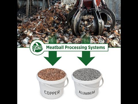 Electric Motor Scrap Meatball Processing Systems by Engineer