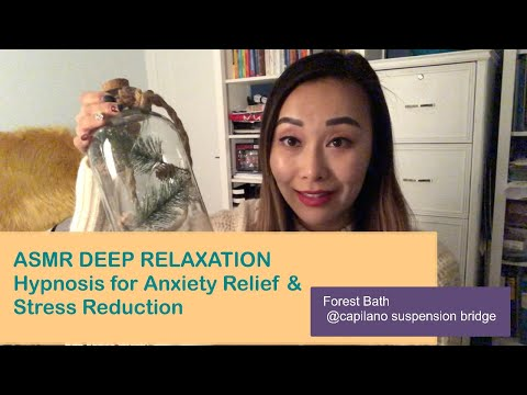 ASMR DEEP RELAXATION: Hypnosis for Anxiety Relief & Stress ...