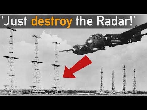 Big Mistake? Why Not Destroy Radar during Battle of Britain?!
