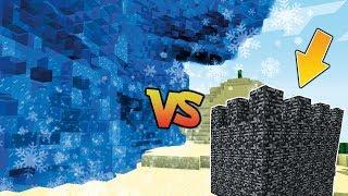 EIS TSUNAMI VS. BUNKER - ICE TSUNAMI CHALLENGE [Minecraft]