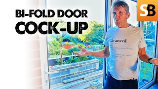 Bifold Doors Install Cock-up ~ RESOLVED!