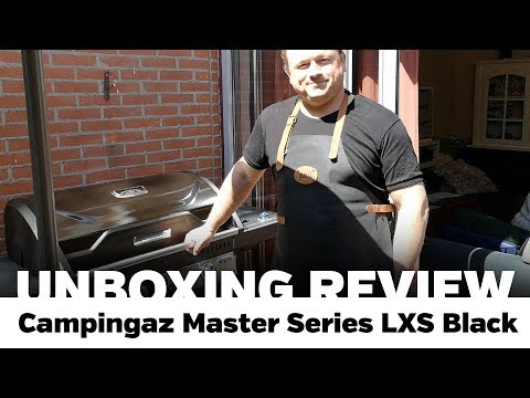 Unboxing Review: Campingaz Master Series LXS Black Edition