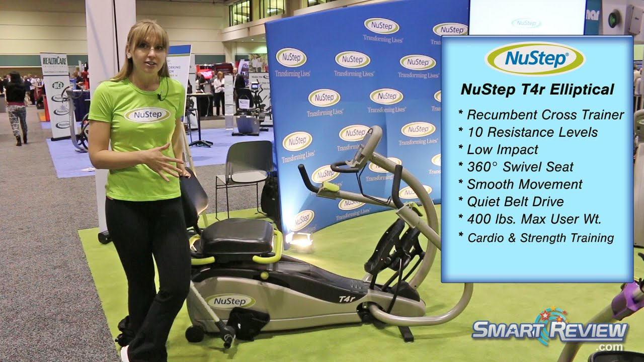 Nustep T4r Cross Trainer Demo Athletic Expo 2014 Smartreview
