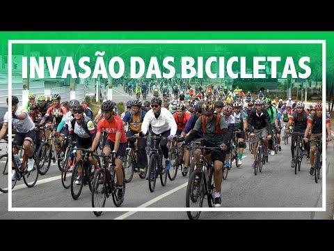 MEGA PASSEIO COM MAIS DE 1.000 CICLISTAS NAS RUAS