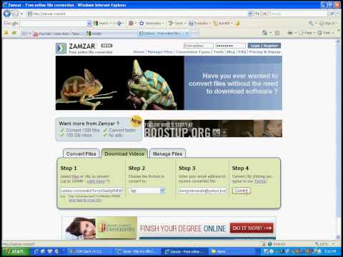 Cách download file từ trang  Youtube.com