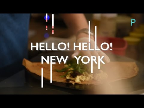 Hello! Hello! NEW YORK with Little Choc Apothecary