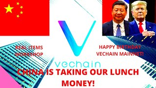 VECHAIN WILL DOMINATE SUPPLY CHAINS ONCE ADOPTED! CHINA WILL TAKE OVER DUE TO FINTECH LEAD