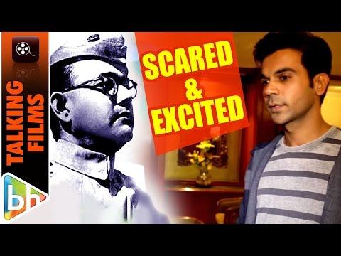 SCARED & EXCITED To Explore Netaji Subhas Chandra Bose's Life… Rajkummar Rao