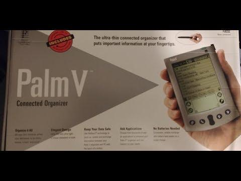 Palm V Unboxing