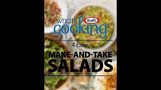 4 easy make-and-take salads