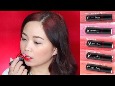 5 NEW SHADES: EVER BILENA Lip & Cheek Tint Roller   SWATCHES & REVIEW