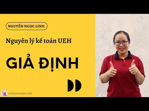 UEH Nguyên lý kế toán | Giả định | by Ngọc Linh