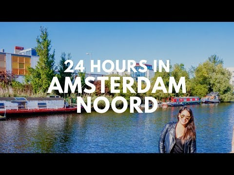 24 HOURS IN AMSTERDAM NOORD With Clink Hostels | TRAVEL VLOG