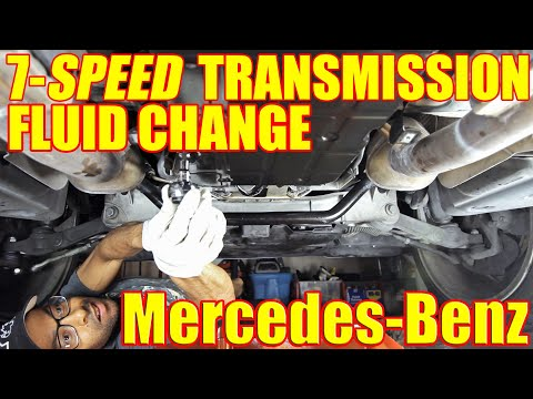 How To Change The Fluid On Your Mercedes Benz S500 Transmission