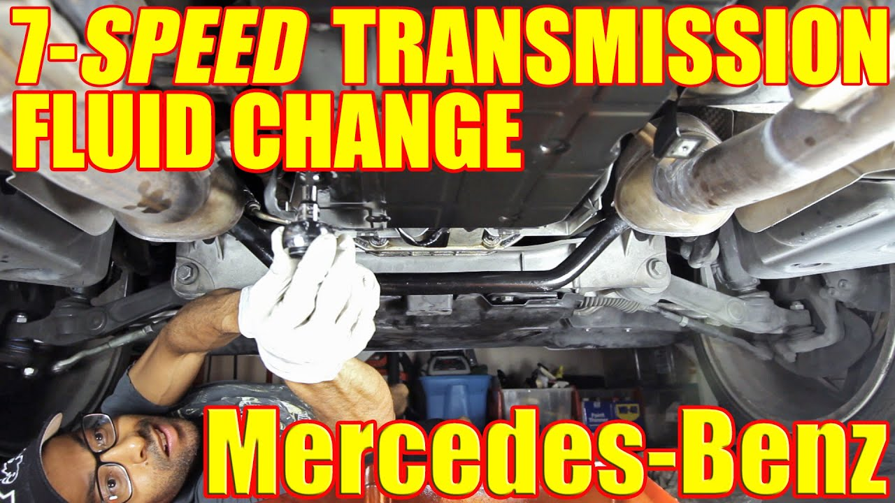 How To Change The Fluid On Your Mercedes Benz S500 Transmission 722 9 7G  Tronic | S Class W220