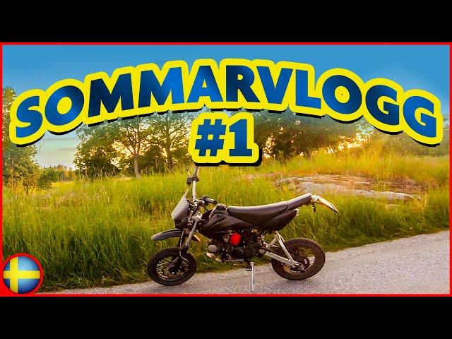 Första Sommarvloggen 2020! | Svensk Motovlogg - Fiddy - Minicross - Pitbike - MC - Moppepojke